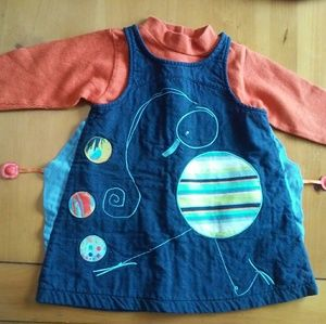 Marese Dress and Jacket for Toddler Girl